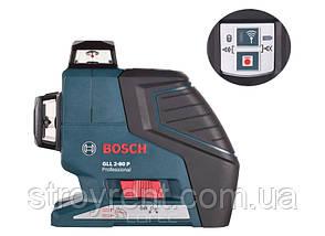 Линейный лазерный нивелир Bosch GLL 2-80 P Professional- аренда, прокат, фото 2