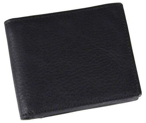Черное мужское портмоне  TIDING BAG 8055A