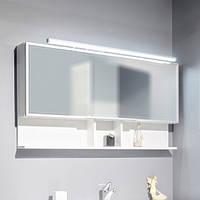 Зеркальный шкаф  для ванной комнаты Буль-Буль ШЗ-Butterfly Белый 1205*650*125