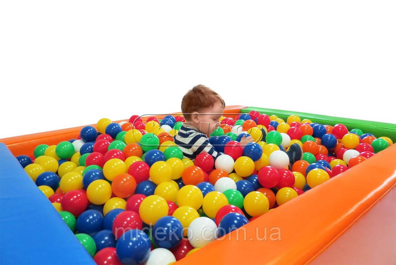 Сухой бассейн KIDIGO™ Прямоугольник 1,5 х 1,2 м MMSB7