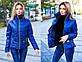 """Стильная женская куртка на синтепоне 7074 """"Стойка Змейка"""" в расцветках, фото 5"""