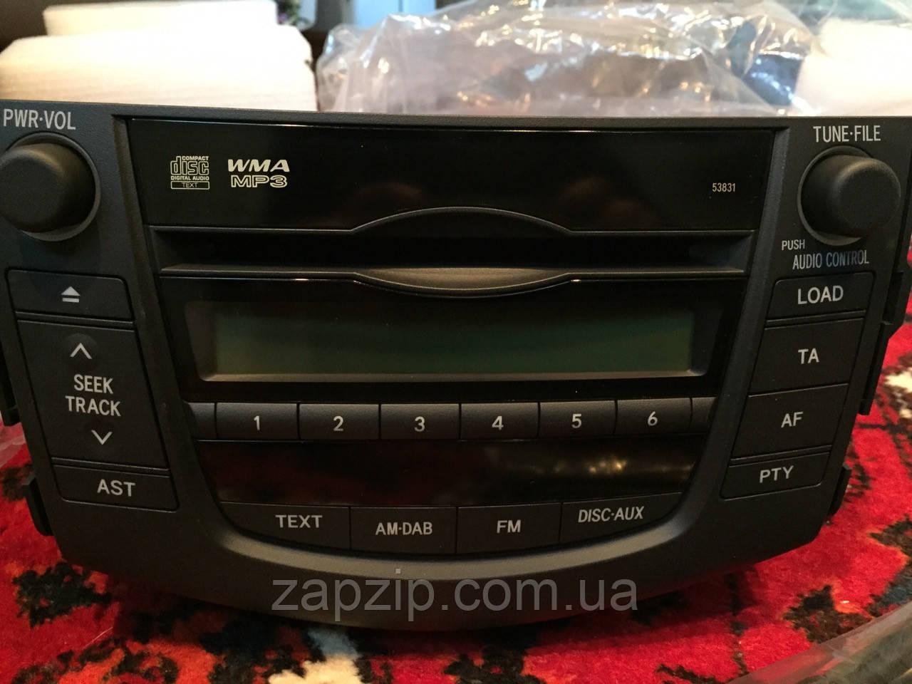 Магнитола rav4 new/receiver assy, radio TOYOTA 86120-42280