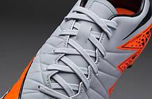 Бутсы Nike Hypervenom Phelon II FG 749896-080, Оранжевые найк хупервеном (Оригинал), фото 3