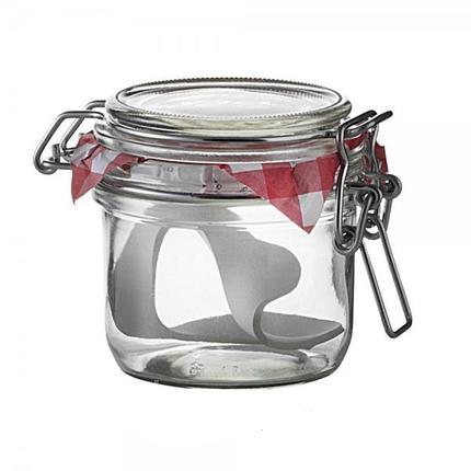 Емкость для сыпучих продуктов BORMIOLI ROCCO Fido 141370ME7321990 (125 мл) , фото 2