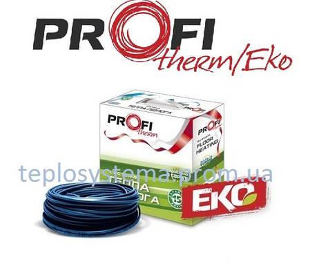 Тонкий двухжильный кабель PROFI THERM Eko FLEX 80 Вт 0,5 м2, (Украина) , фото 2