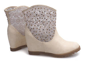 Женские ботинки DAVIS Beige