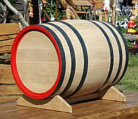 Дубовая бочка 100л для вина, коньяка, виски, фото 1