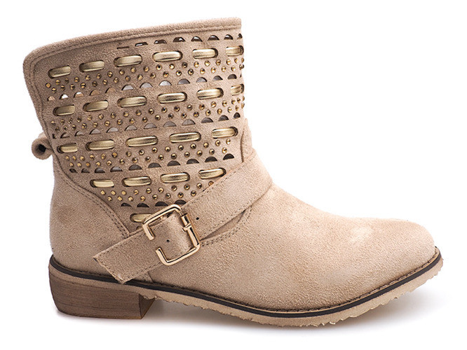 Женские ботинки DAWN Beige