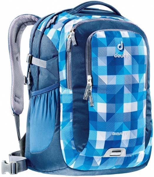 Городской рюкзак Deuter Gigant blue/arrowcheck (80424 3016)