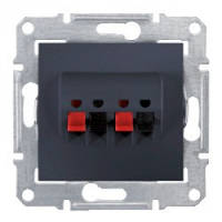 Розетка Schneider-Electric Sedna Аудио графит ( SDN5400168 )