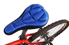 Ортопедическая накладка на седло велосипеда