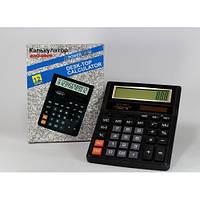 Калькулятор KK 888T черный, настольный калькулятор, мобильный компактный калькулятор