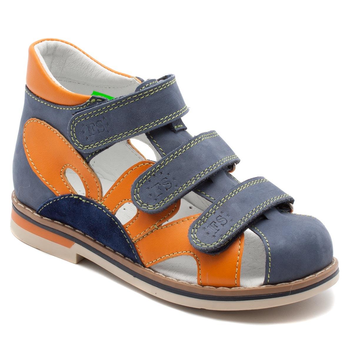 Синие босоножки FS Сollection для девочки, размер 20-30