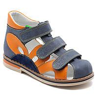 Синие босоножки FS Сollection для девочки, размер 20-30, фото 1