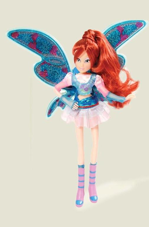 Кукла WINX 820 со светящимися крыльями и звуком