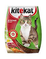 Kitekat сухой корм Мясной банкет для взрослых кошек, 13 кг
