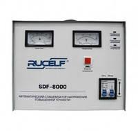 "Стабилизатор напряжения ""Rucelf"" SDF-8000"