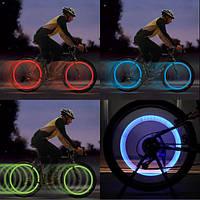 LED подсветка на колесо велосипеда