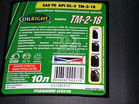 Масло трансмиссионное OIL RIGHT Тэп-15В SAE 90 GL-2 (Нигрол) (Канистра 10л) 2552