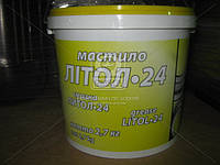 Смазка Литол-24 гост Экстра КСМ-ПРОТЕК (банка 2,7кг) Смазка