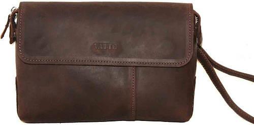 Мужская кожаная коричневая сумка-клатч VATTO Mk19Kr450