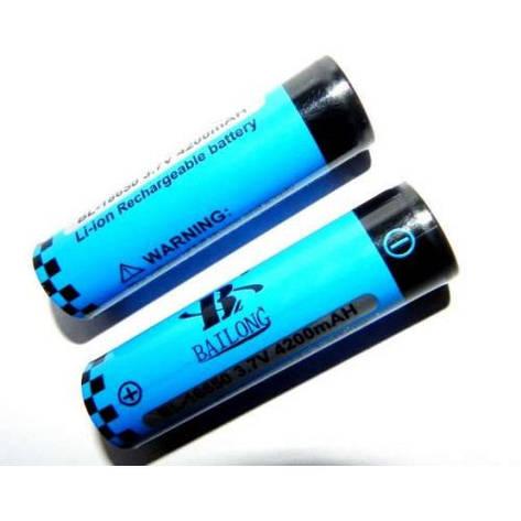 Аккумулятор BL-18650 4200mAh 3.7V (Blue), фото 2
