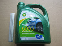 Масломоторное BP Visco 5000 5W-40 API SL/CF (Канистра 4л) RB-V5540-4X4L
