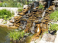 Водопад высотой около 2,5 метров и шириной около 3,5 метров, фото 1