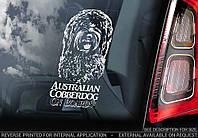 Австралийский Лабрадудель (Коббердог) Australian Cobberdog стикер
