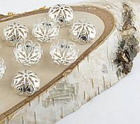 Обниматель под серебро 20 мм 10 штук(товар при заказе от 500грн)