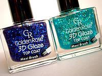 Распродажа!!Лак для ногтей «Golden Rose» 3D Glaze Top Coat