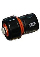 Коннектор быстросьем для поливочного шланга 1/2 с клапаном SLD
