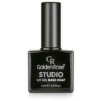 Ультрафиолетовое базовое покрытие-гель для ногтей «Golden Rose» STUDIO UV GEL Base Coat
