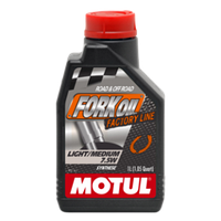 Гидравлическое масло Motul Fork Oil Light/Medium Factory Line 7.5W 1л