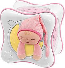 Проектор-ночник Chicco Cube розовый 02430.10