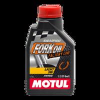 Гідравлічне масло Motul Fork Oil Light Factory Line 5W 1л