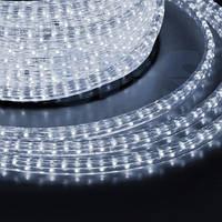 Дюралайт-лента LEMANSO 60SMD силикон белая 5050 220V / LM568