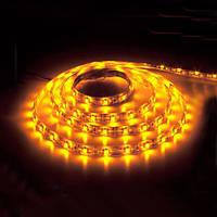 Дюралайт-лента LEMANSO 60SMD силикон желтая 3528 220V / LM368