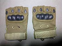 Тактические беспалые перчатки Oakley (реплика).