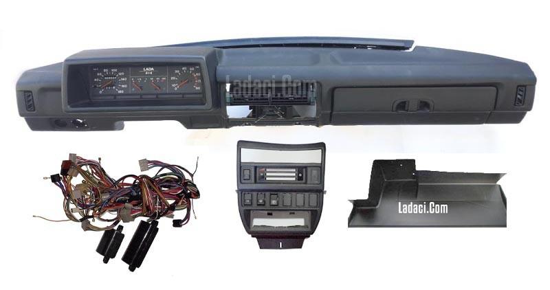 Панель приладів ВАЗ 21213-21214 в зборі повна комплектація з проводкою