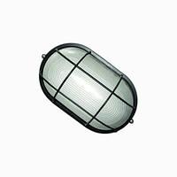 Свет-к LEMANSO овал метал. 60W с реш. BL-1402 черный