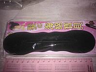 Твистер велюровый черный 17 см