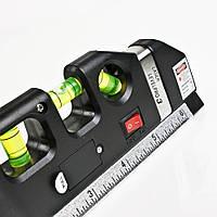 Лазерный уровень - рулетка laser level pro 3