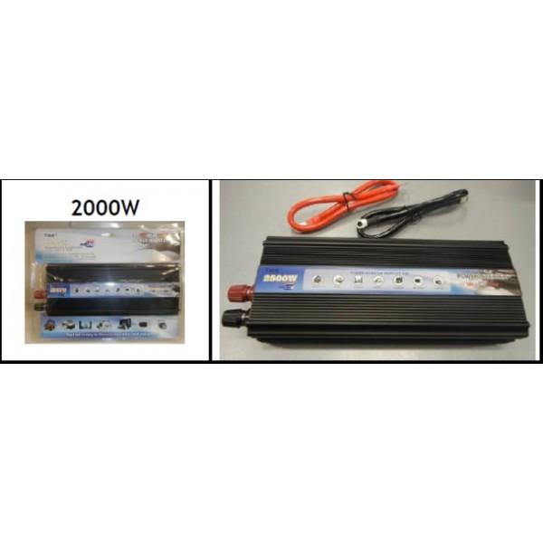Преобразователь напряжения 12V-220V TBE 2000W Вт