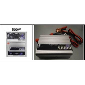 Преобразователь напряжения 12V-220V TBE 500W Вт