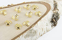Обниматель под золото 13 мм 10 штук