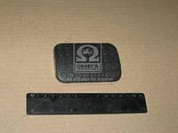 Накладка педали упр-я тормозами (пр-во Беларусь) А13.34.001