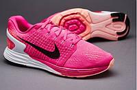 Кроссовки Nike Lunarglide 7 Pink Foil/Black/Pink Pow