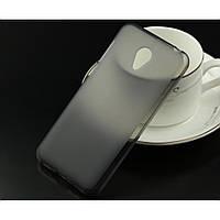Силиконовый чехол накладка на Meizu M2 mini черный