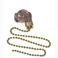 Выключатель Lemanso с цепочкой античное золото LMA031